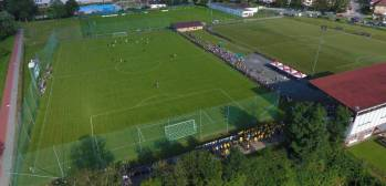 Areál fotbalových hřišť